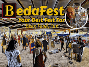 A look at what the food, beer, and fun will look like at the 2019 third annual BedaFest.